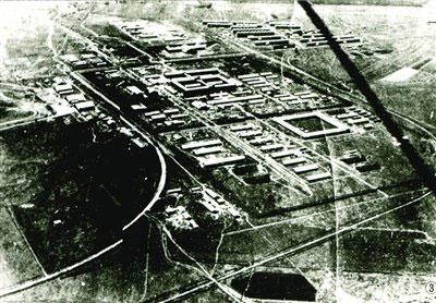 La struttura dell'Unitá 731 ad Harbin