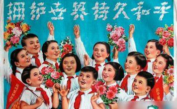 poster di propaganda comunista