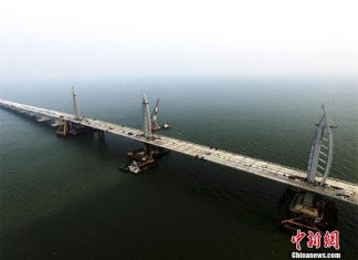 Il ponte sul mare più lungo del mondo