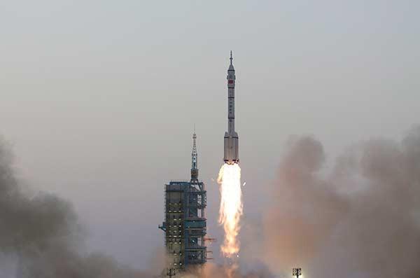 Lancio del razzo Shenzhou XI