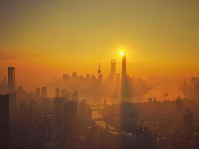 Inquinamento a Shanghai