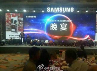 dirigenti cinesi di Samsung
