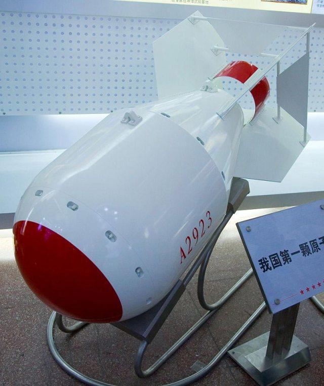 bomba nucleare cinese