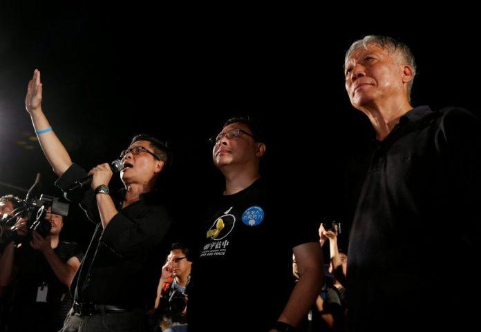 Umbrella Movement a Hong Kong