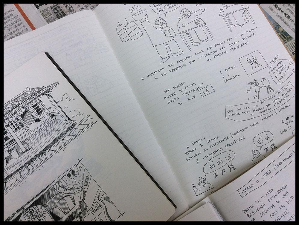 Imparare il cinese a fumetti
