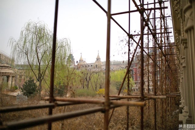 La città fantasma di Xiangyun a Shijiazhuang