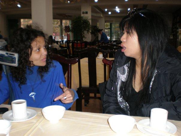 Dominique Musorrafiti and Yan Yan Mak