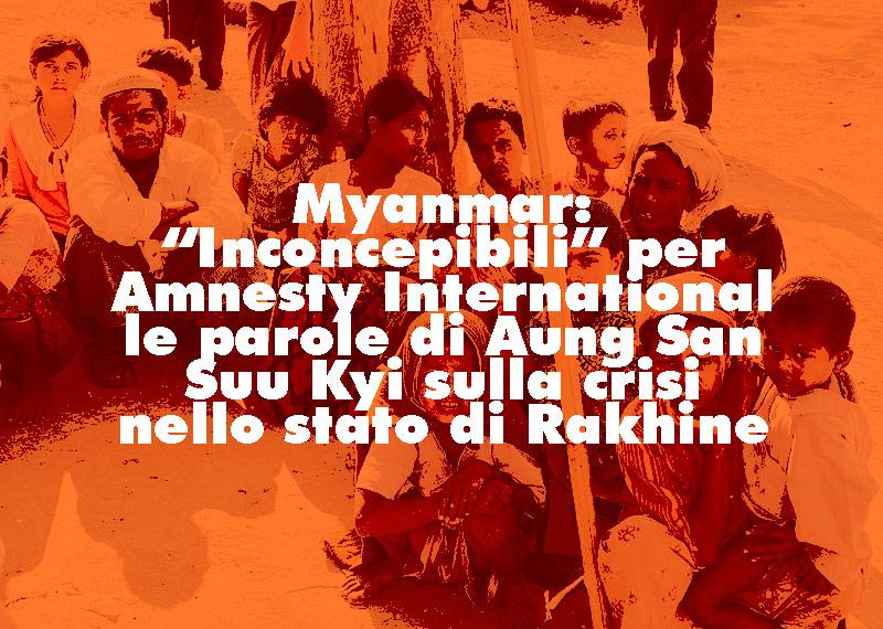 crisi nello stato di Rakhine