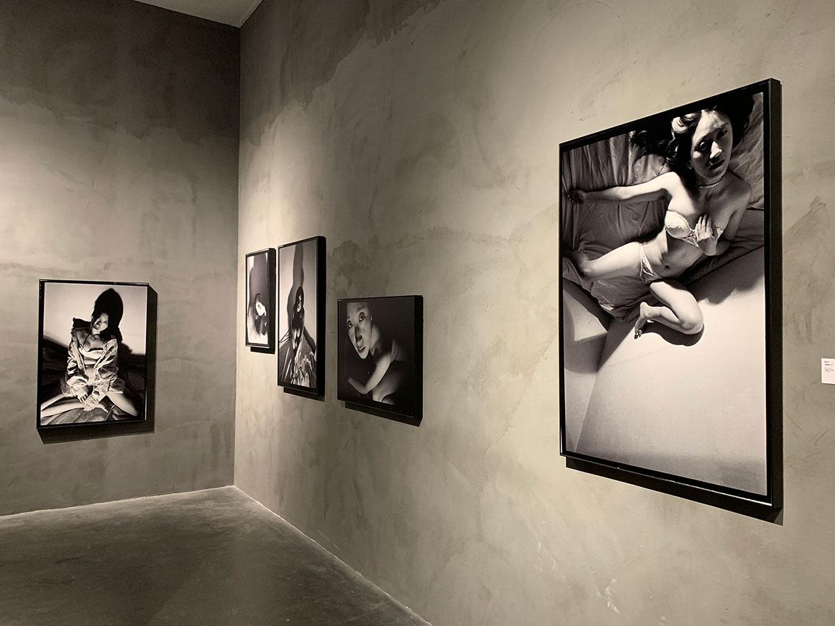 Installation view of Xing Dan Wen's I'm a woman, 2019 at UCCA, Beijing. ©Xing Danwen