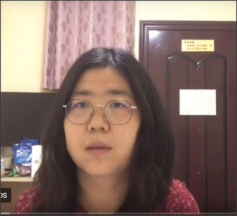 zhang-zhan arresto