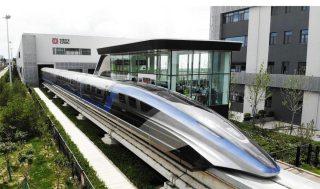 Il treno più veloce del mondo al debutto in Cina