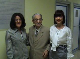 Dra. Arjona, Dr. Bencosme, Dra Núñez
