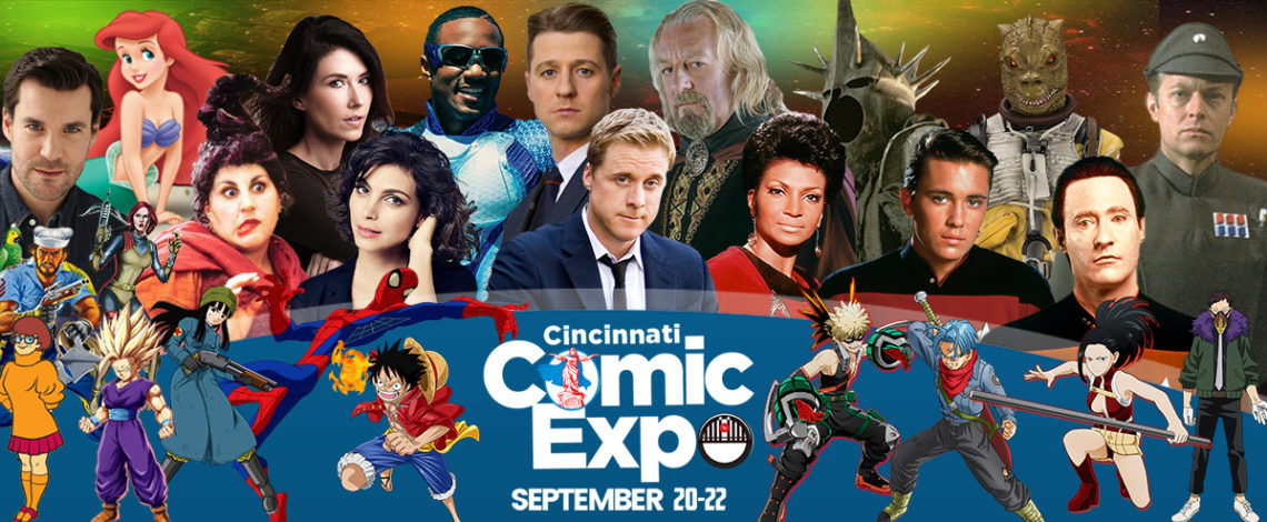 Image result for cincinnati comic con 2019