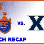 FC Cincinnati vs. Xavier Recap: 2-0