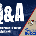 Interview with Crystal Palace fan site The Eagles Beak
