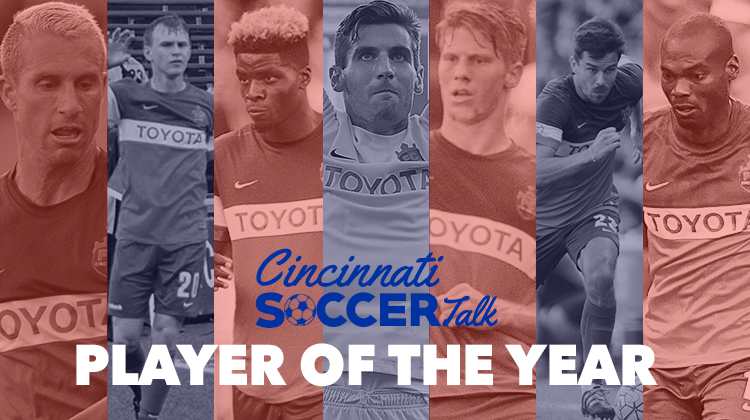 VOTE for the CST FC Cincinnati Player of the Year Award