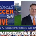 Cincinnati Soccer Talk Goes LIVE Tonight!