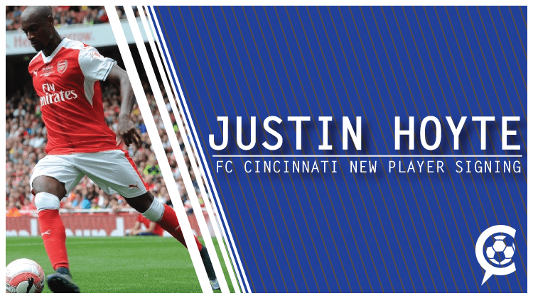 FC Cincinnati Add Former Premier League Defender Justin Hoyte