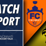 Match Report: FC Cincinnati 1- Pittsburgh Riverhounds 1
