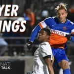 Player Ratings: FC Cincinnati at Pittsburgh Riverhounds