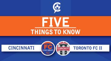 FC Cincinnati vs. Toronto FC II: 5 Things to Know