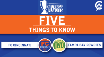 USL Playoffs: FC Cincinnati at Tampa Bay Rowdies: 5 Things to Know