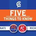 FC Cincinnati at Richmond Kickers: 5 Things to Know