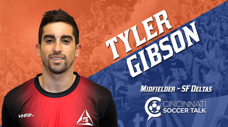 NASL Champion Tyler Gibson Signs with FC Cincinnati