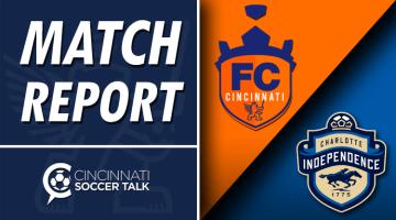 Match Report: FC Cincinnati 1- Charlotte Independence 0