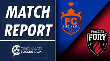 Match Report: FC Cincinnati 0 – Ottawa Fury FC 4