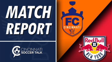 Match Report: FC Cincinnati 4- New York Red Bulls II 2