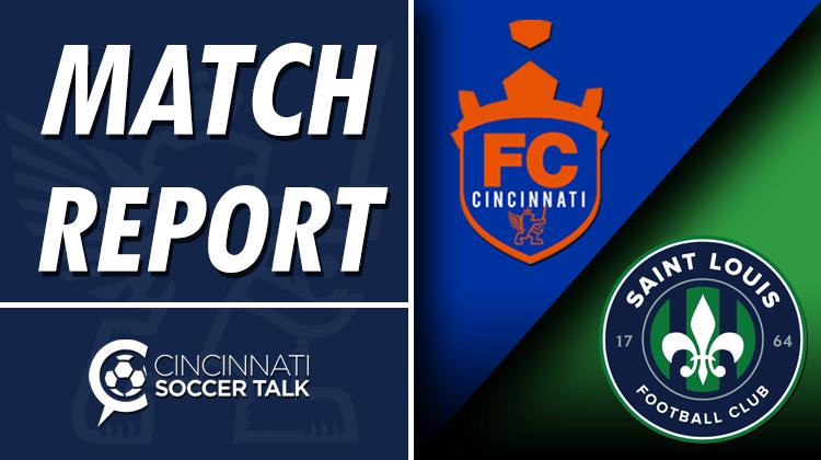 Match Report: FC Cincinnati 2 - Saint Louis FC 0