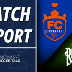 Match Report: FC Cincinnati – 1 , Tampa Bay Rowdies -1