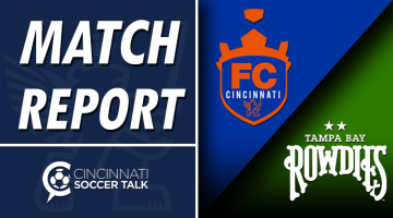 USL Cup Playoffs Match Report: FC Cincinnati at Tampa Bay Rowdies