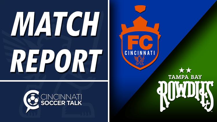 USL Cup Playoffs Match Report: FC Cincinnati at Tampa Bay Rowdies