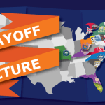 Playoff Picture: Through Orange and Blue Glasses