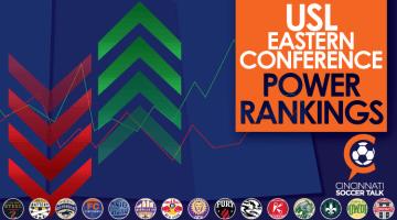USL Eastern Conference Power Rankings Week #5