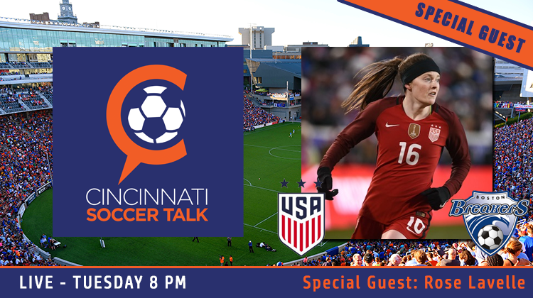 USWNT & Boston Breakers Star Rose Lavelle to Join CST Tuesday