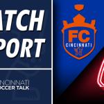 Match Report: FC Cincinnati at Richmond Kickers