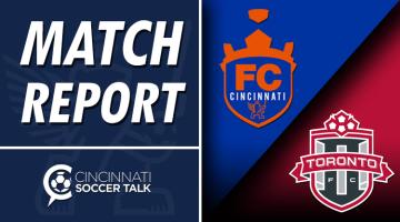 Match Report: FC Cincinnati at Toronto FC II