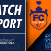 Match Report: FC Cincinnati 3 – Harrisburg City Islanders 0
