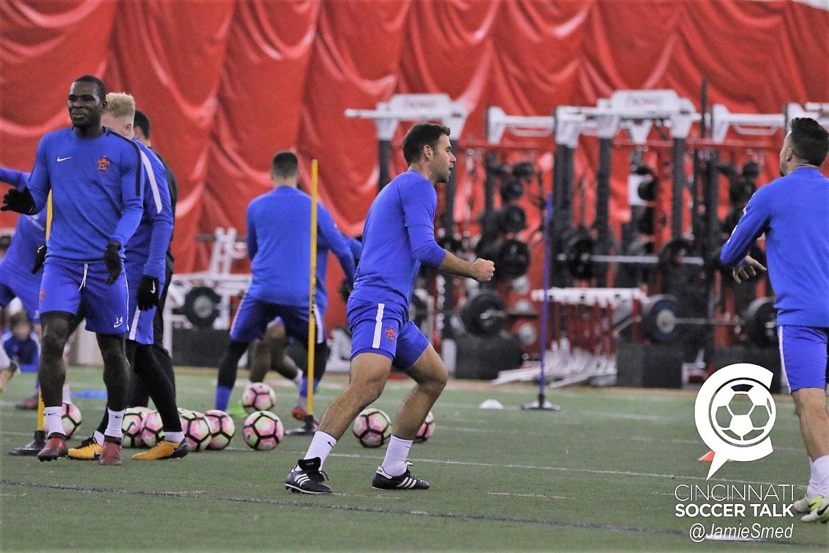 Photo Gallery: FC Cincinnati Training 1/17