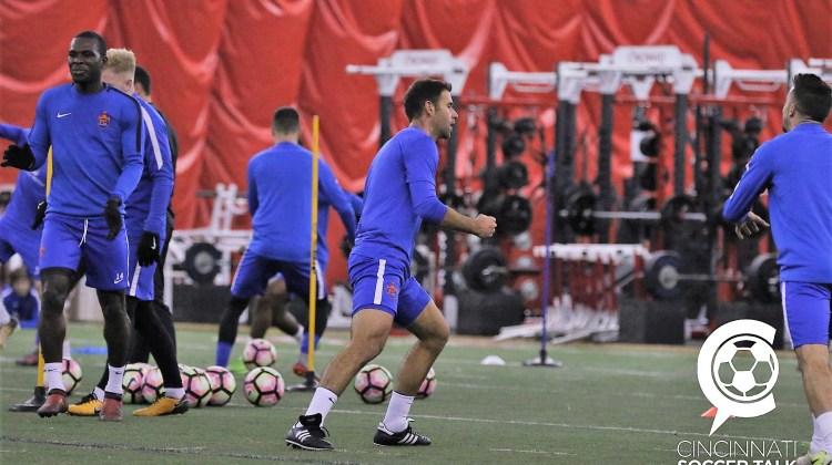 Photo Gallery: FC Cincinnati Training 1/17