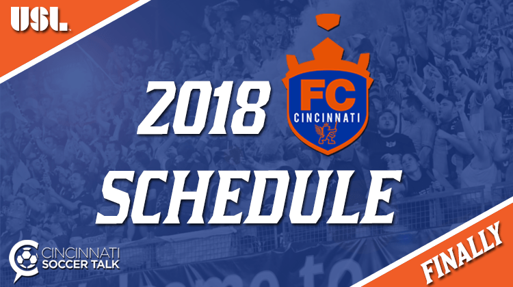 USL Announces 2018 Schedule