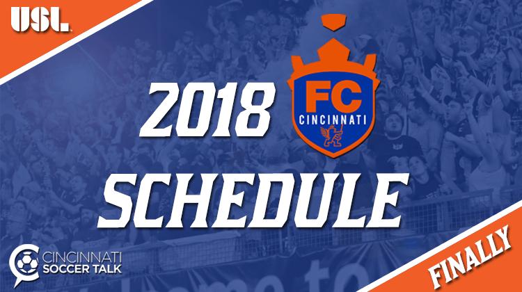 USL Announces 2018 Schedule