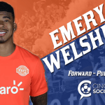 Forward Emery Welshman Signs with FC Cincinnati