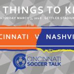 FC Cincinnati vs. Nashville SC: 5 Things to Know