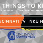 FC Cincinnati vs. NKU Norse- 5 Things to Know