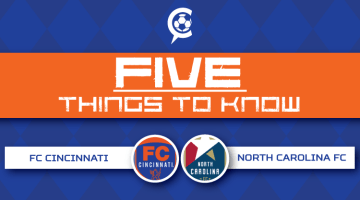 FC Cincinnati vs North Carolina FC: 5 Things to Know