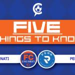 5 Things to Know: FC Cincinnati vs. Penn FC